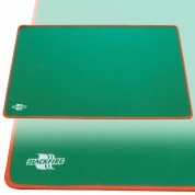 Blackfire Playmat – Green with Red Stitching