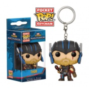 Funko Pocket POP! Marvel Keychain Thor Ragnarock - THOR Helmeted Vinyl Figure Bobble-Head 4cm