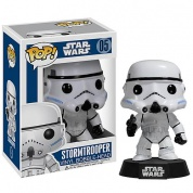 Funko POP! - Star Wars - Stormtrooper Vinyl Bobble Head 4-inch