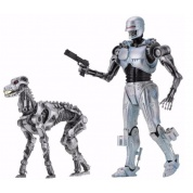 Robocop Vs Terminator 1993 Dark Horse Comics - EndoCop & Terminator Dog 2-Pack Action Figure 18cm