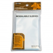 Blackfire Sleeves - Resealable Sleeves - Standard (64x89mm) - 100 Pcs