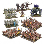 Kings of War - Forces of Nature Mega Army (Re-package & Re-spec)