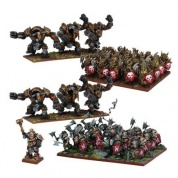 Kings of War - Abyssal Dwarf Army (Re-package & Re-spec)