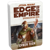 FFG - Star Wars RPG: Edge of the Empire - Cyber Tech Specialization Deck - EN