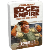 FFG - Star Wars RPG: Edge of the Empire - Technician Signature Abilities Specialization Deck - EN