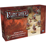 FFG - RuneWars: The Miniatures Game - Uthuk Y'llan Infantry Command Unit Expansion - EN