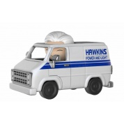 Funko Dorbz Ridez Stranger Things - Hawkins Van and Hazmat Suit Bad Guy Collectible Figure 24cm