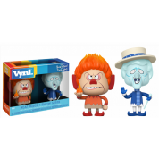 Funko Holiday Vynl.! The Year without a Santa Clause - Heat Miser & Snow Miser 2-Pack Vinyl Figures 10cm
