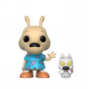 Funko POP! TV Rocko's Modern Life - Rocko and Spunky with Sick Chase Vinyl Figure 10cm