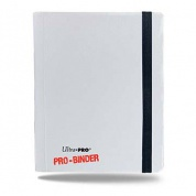 UP - Pro-Binder - 4-Pocket Portfolio - White
