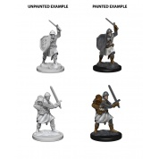 Pathfinder Deep Cuts Unpainted Miniatures - Infantrymen (6 Units)