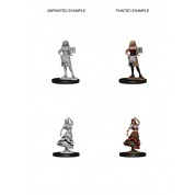Pathfinder Deep Cuts Unpainted Miniatures - Bartender/Dancing Girl (6 Units)