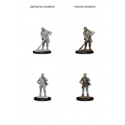 Pathfinder Deep Cuts Unpainted Miniatures - Towns People (Farmer/Aristocrat) (6 Units)