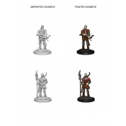 Pathfinder Deep Cuts Unpainted Miniatures - Town Guards (6 Units)