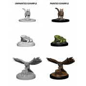 WizKids Deep Cuts Unpainted Miniatures - Familiars (6 Units)