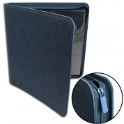 Blackfire 12-Pocket Premium Zip-Album - Blue