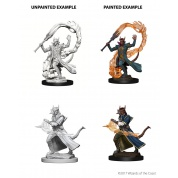 D&D Nolzur's Marvelous Miniatures - Tiefling Male Sorcerer (6 Units)
