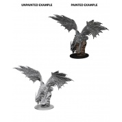 Pathfinder Deep Cuts Unpainted Miniatures - Silver Dragon (6 Units)