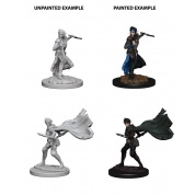 Pathfinder Deep Cuts Unpainted Miniatures - Elf Female Rogue (6 Units)