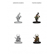 D&D Nolzur's Marvelous Miniatures - Dwarf Female Barbarian (6 Units)