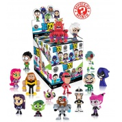 Funko Mystery Minis - Teen Titans Go! Mini Figure 6cm Assortment (12 random packaging)