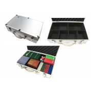 Briefcase A3 with Velcro Walls - Silver