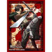 "Bushiroad Standard Sleeves Collection - HG Vol.1350 - Attack on Titan ""Eren Yeager"" (60 Sleeves)"