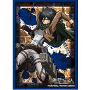 "Bushiroad Standard Sleeves Collection - HG Vol.1351 - Attack on Titan ""Mikasa Ackerman"" (60 Sleeves)"