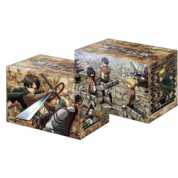 "Bushiroad Deck Holder Collection V2 Vol.256 - Attack on Titan ""Eren, Mikasa & Armin"""