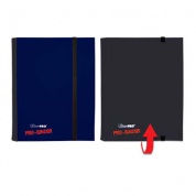 UP - Pro-Binder - 4-Pocket Portfolio - Blue/Black