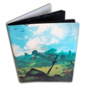 Blackfire Flexible Album - 9 Pocket - Artwork by Svetlin Velinov: Plains