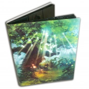 Blackfire Flexible Album - 9 Pocket - Artwork by Svetlin Velinov: Forest