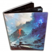 Blackfire Flexible Album - 9 Pocket - Artwork by Svetlin Velinov: Mountain