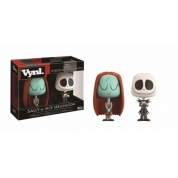 Funko Vynl. Nightmare Before Christmas - Sally & Jack Skellington 2-Pack Action Figures 10cm
