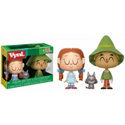 Funko Vynl. Wizard Of Oz - Dorothy With Toto and The Scarecrow 2-Pack Action Figures 10cm