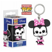 Funko Pocket POP! Disney Keychain - Minnie Mouse Vinyl Figure 4cm