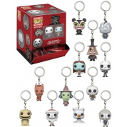 Funko Disney Keychains - Nightmare Before Christmas Blindbags Display (24 random packaging) Figure 4cm