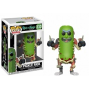 Funko POP! Animation - Rick and Morty Pickle Rick Vinyl Figure 10cm