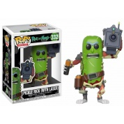 Funko POP! Animation - Rick and Morty Pickle Rick (With Laser) Vinyl Figure 10cm