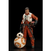 Star Wars Episode VII Poe Dameron & BB-8 ARTFX+ 2-Pack 1/10 Scale Statue 18 / 7cm