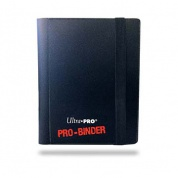 UP - Pro-Binder - 2-Pocket Portfolio - Black