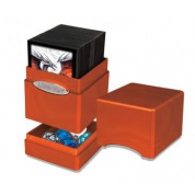 UP - Deck Box - Satin Tower - Hi-Gloss Pumpkin