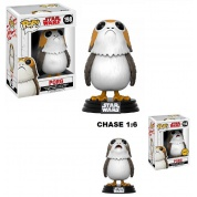 Funko POP! Star Wars Episode 8 The Last Jedi - Porg Bobble Head 10cm Assortment (5+1 chase figure)
