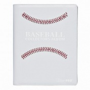 UP - White Stitched Baseball Premium PRO-Binder