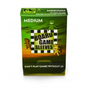 Board Games Sleeves - Non-Glare - Medium (57x89mm) - 50 Pcs