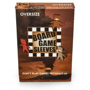 Board Games Sleeves - Non-Glare - Oversize (82x124mm) - 50 Pcs
