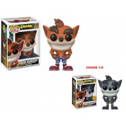 Funko POP! Games Crash Bandicoot™ - Crash Bandicoot Vinyl Figure 10cm Assortment (5+1 chase figure)