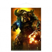 Doom Wallscroll - Cyber Demon