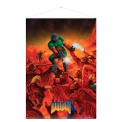 Doom Wallscroll - Retro