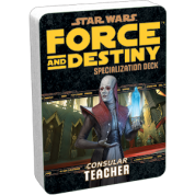 FFG - Star Wars RPG: Force and Destiny - Teacher Specialization Deck - EN